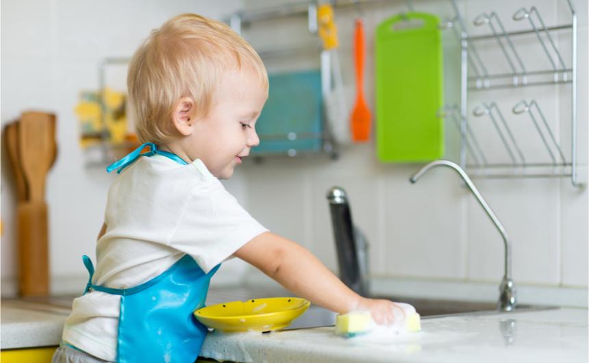 Temizlik Ürünleri Çocuklara Kilo Aldırıyor